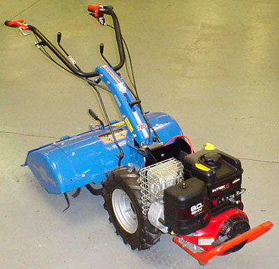Vermont BCS 720 Harvester Electric start Rototiller tractor