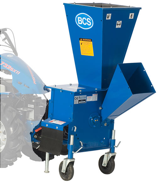 Vt Chipper/Shredder Attachment for BCS tractors