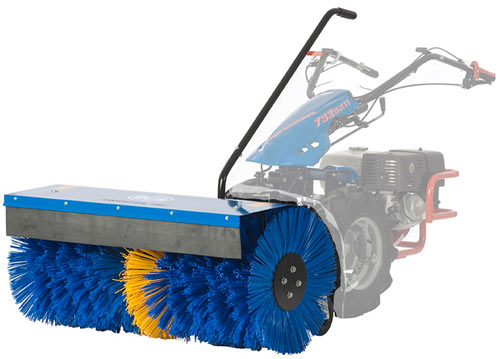"Vt 40"" Power Sweeper / Power Broom Attachment for BCS tractors"