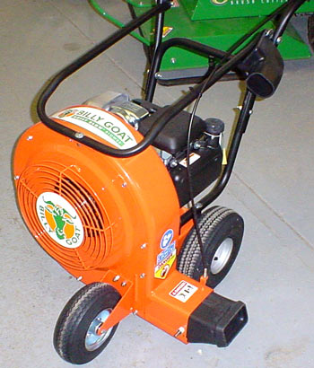 Vermont Commercial Billy Goat Quiet Blow wheeled blower