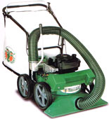 "Billy Goat Termite  self propelled lawn vacuum with 2"" chipper"