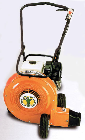 Vermont Commercial Billy Goat 13hp Quiet Blow wheeled blower