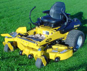 Everride warrier commercial z-mower