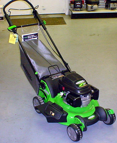 vermont Lawnboy 10695 lawnmower, easy stride mower