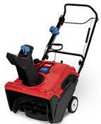 Toro Power Clear 221Q   Gas Recoil start Single Stage Snowthrowers