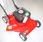 Vermont Toro Model 16400 cast deck side discharge lawnmower