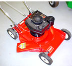 Vermont Toro Model 16551 cast deck side discharge lawnmower