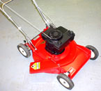 Vermont Toro Model 16575 cast deck side discharge lawnmower