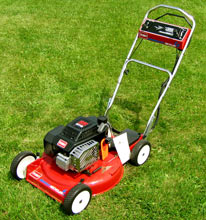 Vermont Toro Model 20107 4-cycle 3-spd GTS recycler cast aluminum deck lawnmower