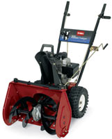 Toro two stage 522E Power Throw Gas Two Stage Snowthrowers