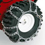 toro timecutter ZX480 tire chains