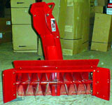 "toro 400 Series Garden Tractor attachments 42"" single stage snow thrower"