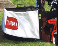 Toro LCE Soft Side Bagger Attachment