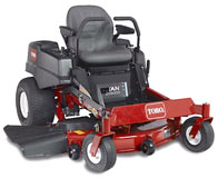 Vermont Toro Model 74820 TimeCutter ZX 5000 Zero Turn Riding Lawnmower