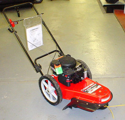 Vermont Snapper Trimmer on Wheels Trimmer Mower, New York Troy-Bilt Tiller