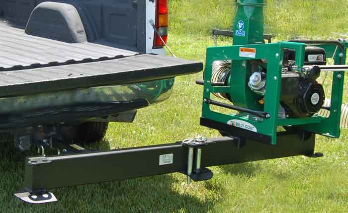 Billy Goat DL Debris Loader Swing-A-Way Mount
