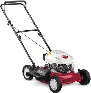 Vermont White push Lawn mower  New York Troy-Bilt Tiller