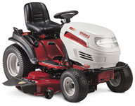 White GT 950 h lawntractor rider lawnmower tractor