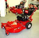 Toro Floating deck walkbehind wide area mower commercial landscape mower