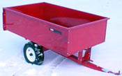 toro 400 Series Garden Tractor attachments 17 cu ft steel dumpcart