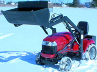 toro 5xi Lawn yard and garden tractor front end bucket loader