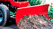 "Toro 260 Series Garden Tractor attachments 48"" dozer Blade snow blade"