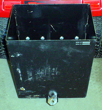toro 5xi lawn & garden tractor  rear weight box