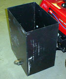 toro 5xi lawn yard and garden tractor weight box