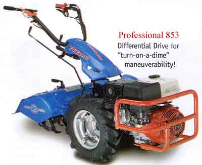 Vermont BCS Professional 853 Rototiller tractor